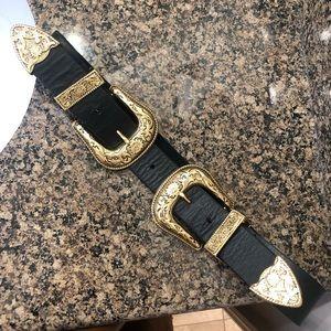 B-Low the Belt Accessories - Authentic B-Low the Belt Bri Bri double buckle